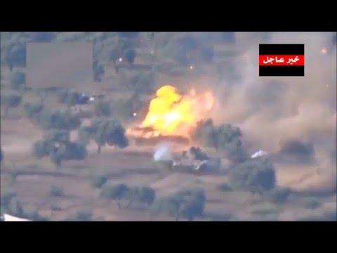 Уничтожение двух танков в Сирии из ПТУР