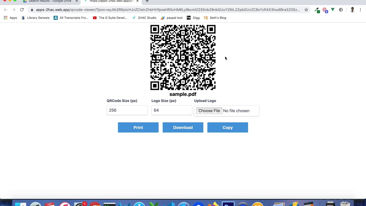 Qr Code Sharing For Google Drive Add On Youtube