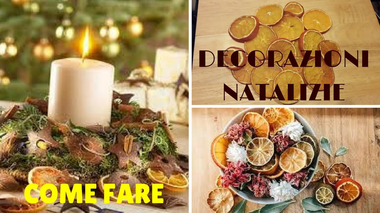 Come essiccare le arance idee per le decorazioni for Youtube decorazioni natalizie