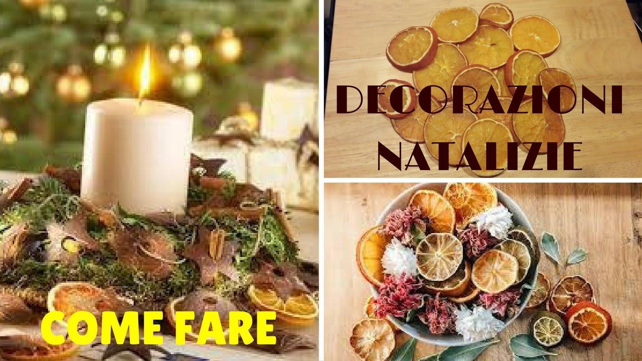 Addobbi Natalizi Con Frutta come essiccare le arance + idee per le decorazioni natalizie