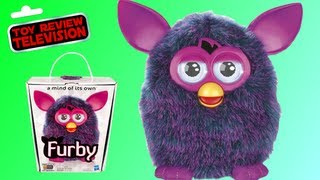 New Furby Christmas #1 Toy Funny Interactive Toy Review Unboxing Hasbro Toys