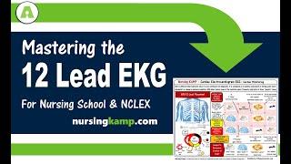 Mastering 12 Lead ECG EKG for Nurses and Nursing School NCLEX Prep 2019