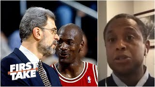 B.j. Armstrong Explains Why Michael Jordan Was So Committed To Phil Jackson | First Take