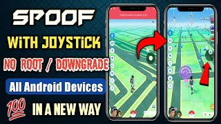 How to spoof in Pokemon go with joystick. Spoof Pokemon Go without Root and Downgrade. Spoof 2020