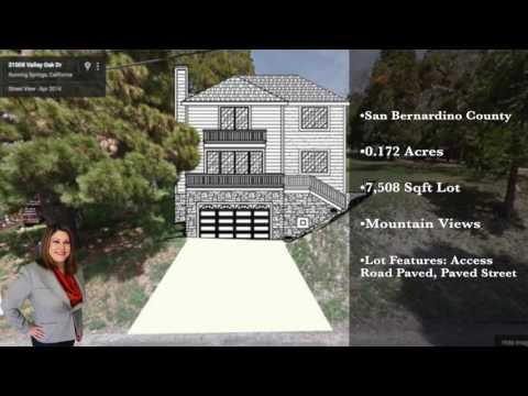 Land For Sale! Valley Oak Dr. | Running Springs, CA