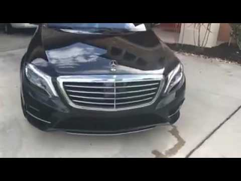 Bounce Back After Repossession of his Car to Mercedes S Class Benz