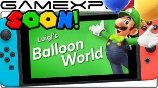 Super Mario Odyssey's Luigi's Balloon World Update Imminent!