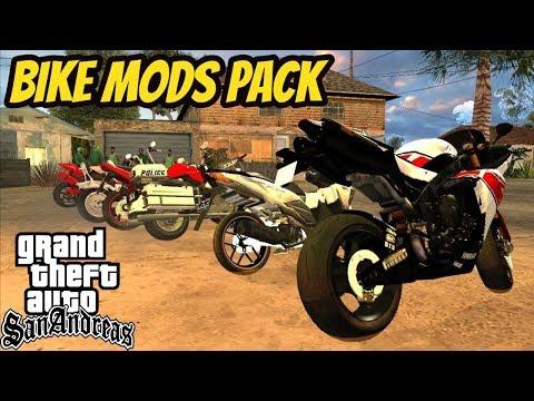 GTA 5 Bikes Pack In GTA San Andreas Installation Hindi/Urdu