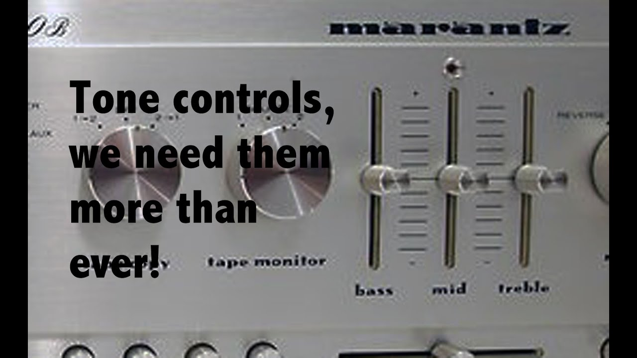 Accurate Bass Tone Control