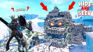 *NEW* EPIC HIDE AND SEEK INSIDE OF A ROCK GOLEM IN FORTNITE!!!! (Fortnite Creative)