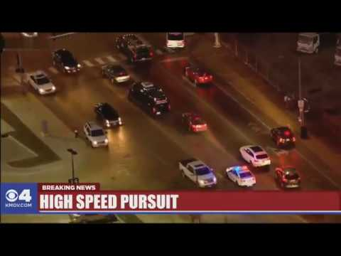 St  Louis Police Chase | The crazy pursuit