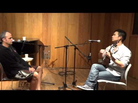 Jake Shimabukuro with Honolulu, Hawaii radio host Dave Lawrence - In My Life