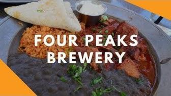 My Go-To Restaurant in Phoenix!  Four Peaks Brewery • Tempe, Arizona