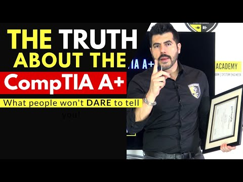 CompTIA A+ The TRUTH people won't DARE to tell you | Advice for 2020 | Do you want a LOW PAYING JOB?