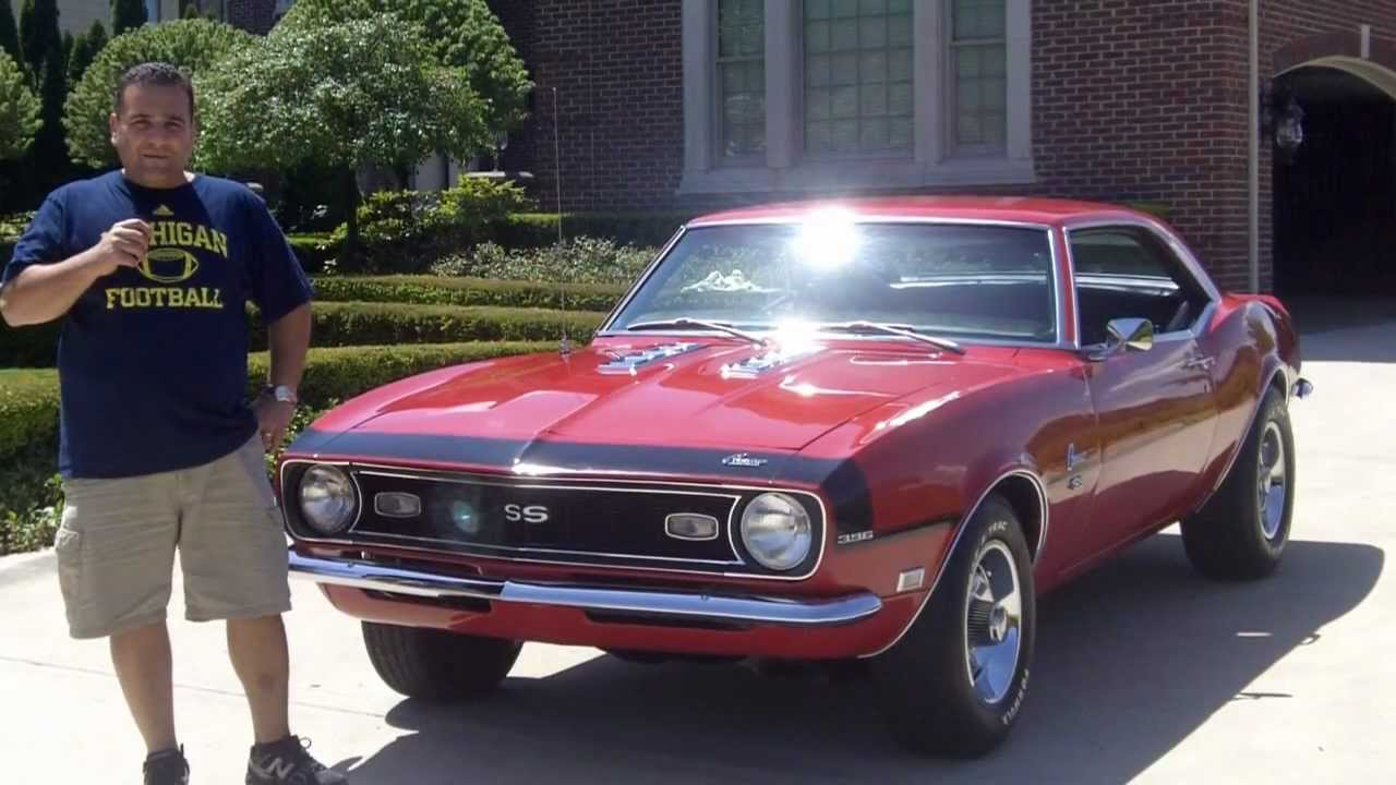 1968 chevy camaro big block classic muscle car for sale in mi vanguard motor sales youtube. Black Bedroom Furniture Sets. Home Design Ideas