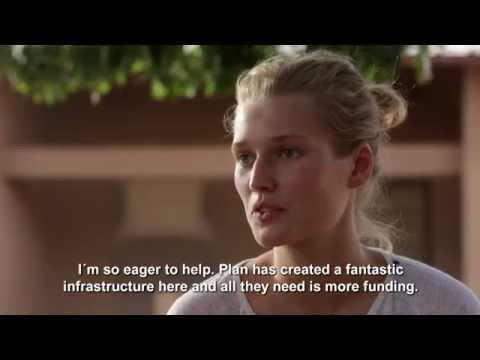 Plan Deutschland: Toni Garrn new ambassador for Plan-campaign Because I am a Girl