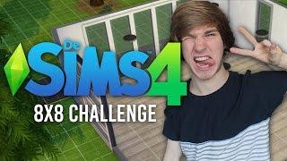8X8 HUIS VOOR 4 PERSONEN CHALLENGE! - De Sims 4 Challenge