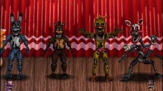 (FNAF6 мод) новий! Фнаф 2 кошмар іграшкові аніматроніки - ПКО