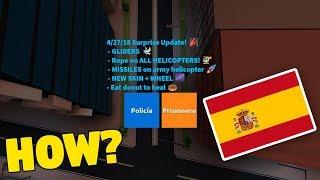 HOW TO CHANGE JAILBREAK TO SPANISH! (Roblox Jailbreak)
