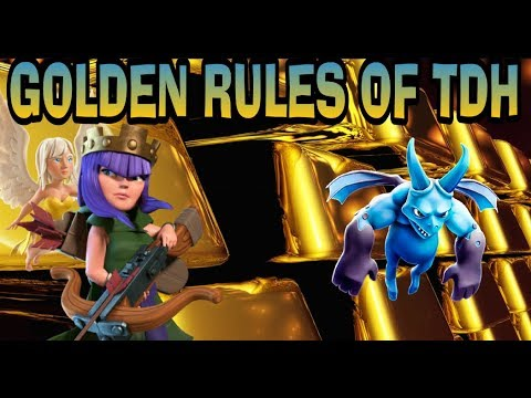 GOLDEN RULES OF TDH-CLASH OF CLANS-TH9