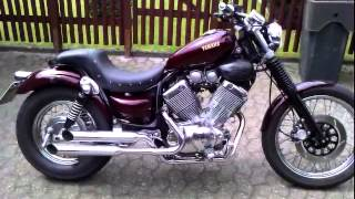 Repeat youtube video Yamaha Virago 535 Cobra Exhaust custom sound