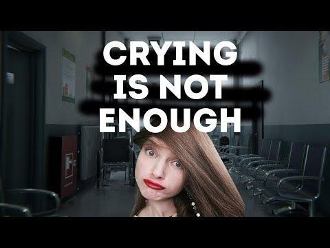 ЭТО ПРОВАЛ. ХОРРОР CRYING IS NOT ENOUGH [ОДНИМ ГЛАЗКОМ]