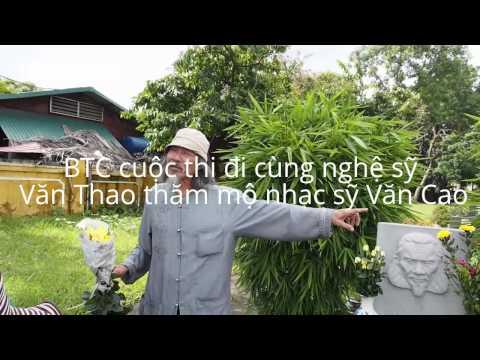 Viếng mộ cố nhạc sĩ Văn Cao