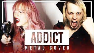Hazbin Hotel (Silva Hound) - Addict Metal Cover by Lollia feat. @DAGames