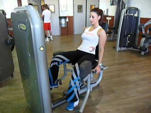 exercice de musculation adducteurs machine youtube. Black Bedroom Furniture Sets. Home Design Ideas