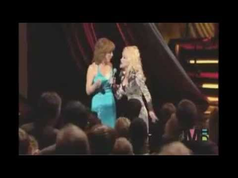 Dolly Parton Singing How Blue For Reba McEntire