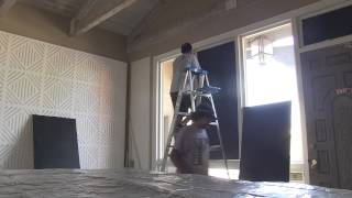 Time Lapse Video of Recording Studio Being Renovated by Pure Wave Audio