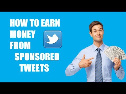 How to Online Earn Money from Twitter by Using Sponsored Tweets & More - (Urdu/Hindi)