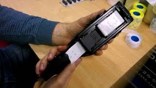 видео Картридж для этикет-пистолета Blitz