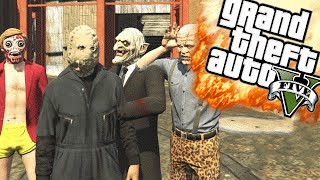 HORROR FILM MAKEN - GTA 5 Online Funny Moments