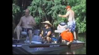 Grabuone Outfitters Snake Hunt Mississippi Style Boat Motor Explodes