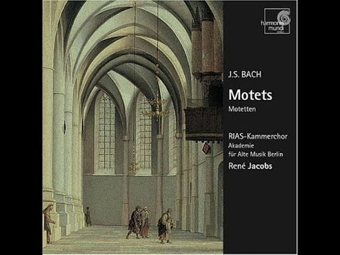 Johann Sebastian Bach,  Motet 'Singet dem Herrn ein neues Lied', René Jacobs