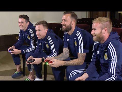 FIFA 17 Match - Steven Fletcher & Barry Bannan v John McGinn & Barrie McKay