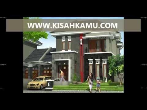 KISAHKAMU.COM - DENAH RUMAH MINIMALIS 2 LANTAI TIPE MODERN SEDERHANA