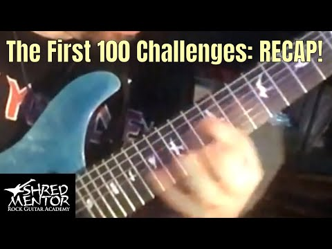 Recap: The First 100 Challenges of the Day | ShredMentor Challenge of the Day
