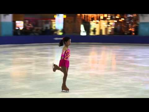 Tran Khan Linh Basic Novice A- Free Skating Vietnam Cup 2015