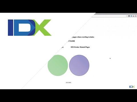 Custom Sub Domains for IDX Broker
