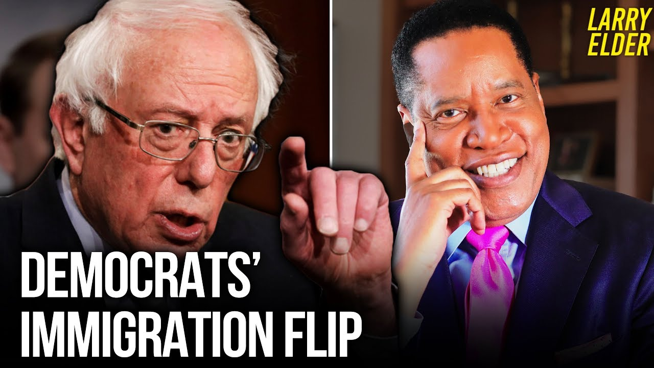 Remember When Democrats Cared About Illegal Immigration and Border Security? | Larry Elder