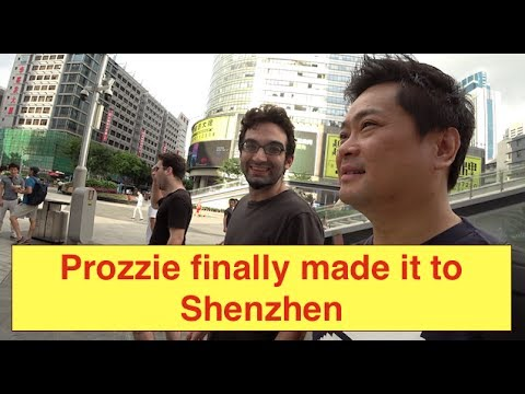 """Vlog the Vlogger"" Prozzie & Beard chilling in Shenzhen."