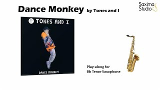 (Bb Tenor) Dance Monkey / Tones and I – Playalong