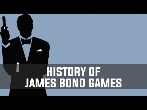 History of James Bond Video Games (1983-2012)