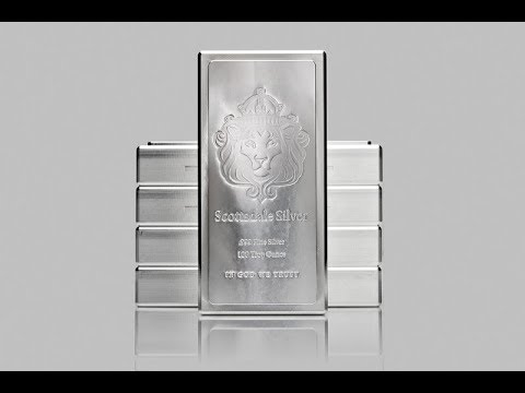 Stacking Silver: Scottsdale 100 oz Stacker - AWESOME BAR!
