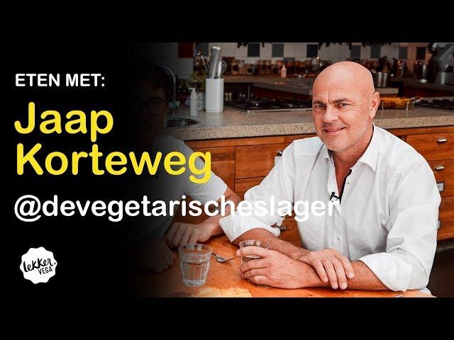 Eten Met De Vegetarische Slager, Jaap Korteweg