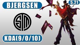 TSM Bjergsen | Twisted Fate vs Kassadin | Mid | October 31st, 2015 | Season 5 | Patch 5.21