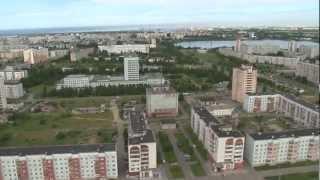 Северодвинск с высоты птичьего полета