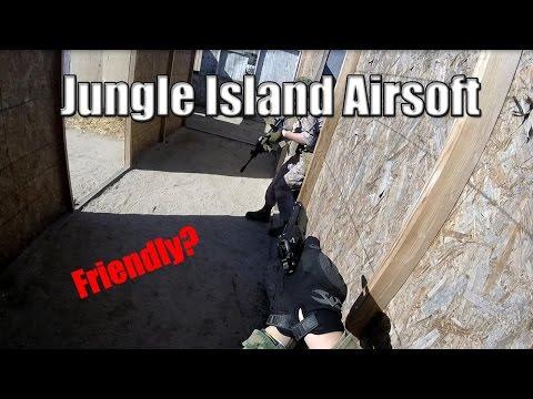Jungle Island Airsoft | Friendly? | ToxiKGoPro | 3/20/2016
